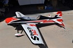 Jeff H. 36 % sbach powered by a DA-100 twin and will be spinning a 27x10 Zoar carbon fiber prop.