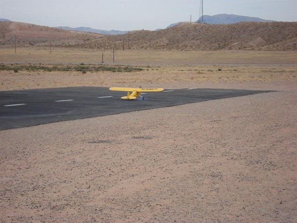 Tom's Piper Taxi to end or runway